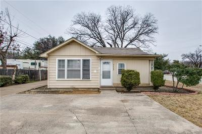 White Settlement Single Family Home Active Option Contract: 7900 Raymond Avenue