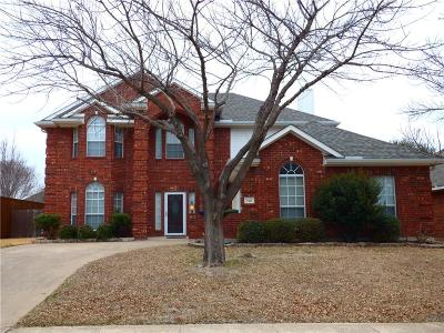 Garland Single Family Home For Sale: 721 Green Apple Drive