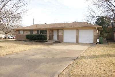 North Richland Hills Single Family Home Active Option Contract: 6778 Briley Drive
