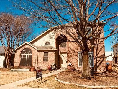 Allen Single Family Home For Sale: 1517 Oak Tree Road
