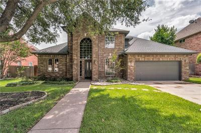 Grapevine Single Family Home Active Option Contract: 2732 Hidden Lake Drive