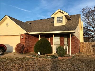 Watauga Single Family Home Active Option Contract: 7754 Crestview Court
