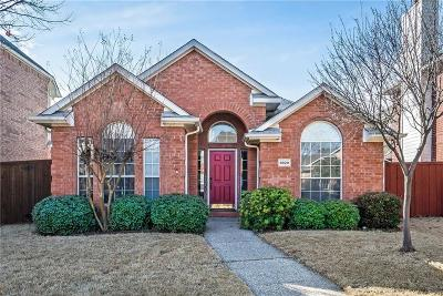 Plano Single Family Home Active Contingent: 6829 Barbican Drive
