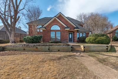 Hurst Single Family Home Active Option Contract: 733 Herman Drive