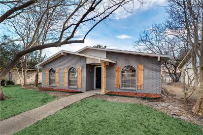 Rowlett Single Family Home Active Option Contract: 8718 Willowbrook Drive