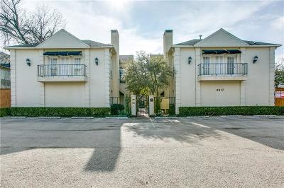 Dallas Condo For Sale: 4517 Holland Avenue #103