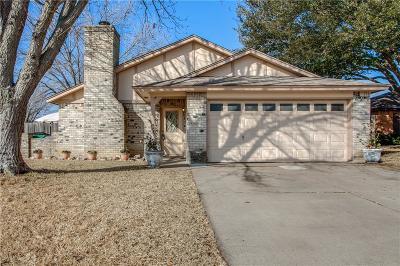 Watauga Single Family Home Active Option Contract: 7541 Evergreen Drive