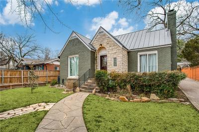 Dallas Single Family Home For Sale: 711 N Hampton Road