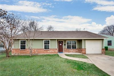 Garland Single Family Home For Sale: 805 Hillcrest Drive