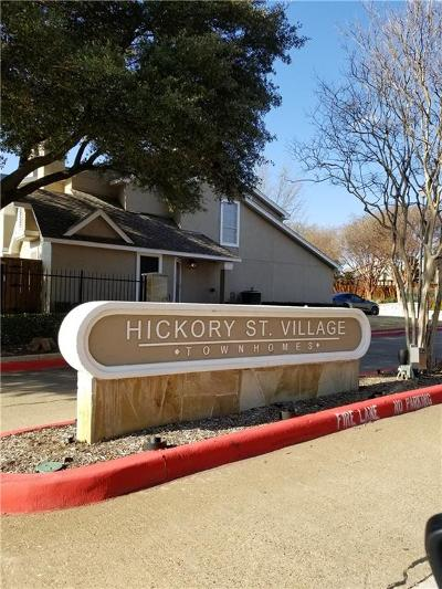 Frisco Townhouse For Sale: 8400 Hickory Street #601