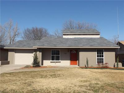 Seagoville Single Family Home Active Option Contract: 1708 Woodhaven Drive