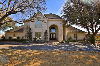 Abilene Single Family Home For Sale: 99 Glen Abbey Street