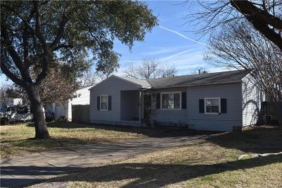 Irving Single Family Home Active Option Contract: 446 Goodyear Street