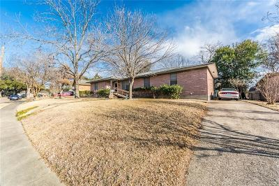 Garland Single Family Home Active Option Contract: 514 W Ridgewood Drive