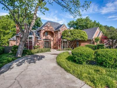 Dallas Single Family Home For Sale: 17815 Cedar Creek Canyon Drive