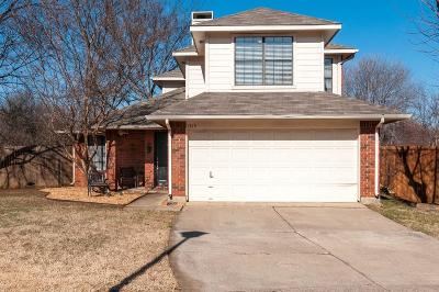 Grapevine Single Family Home Active Option Contract: 1515 Bennington Court
