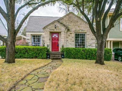 Dallas, Fort Worth Single Family Home For Sale: 6162 Prospect Avenue