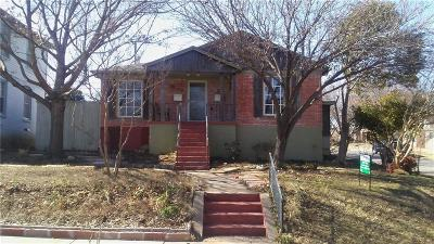 Dallas Single Family Home For Sale: 417 N Montreal Avenue