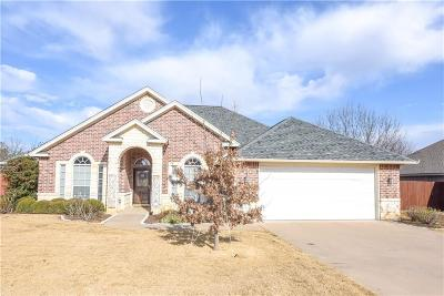 Stephenville Single Family Home Active Contingent: 1407 Glenwood Drive