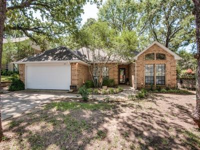 Grapevine Single Family Home Active Option Contract: 2141 N Aspenwood Drive