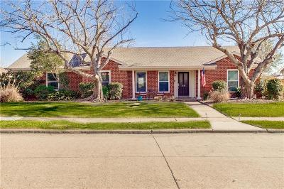 Farmers Branch Single Family Home Active Option Contract: 3326 Pine Tree Circle