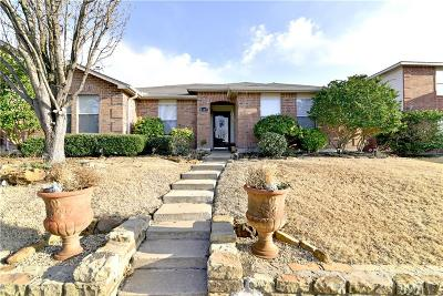 Rockwall Single Family Home Active Option Contract: 1489 Englewood Drive