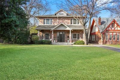 Dallas Single Family Home For Sale: 5727 Belmont Avenue
