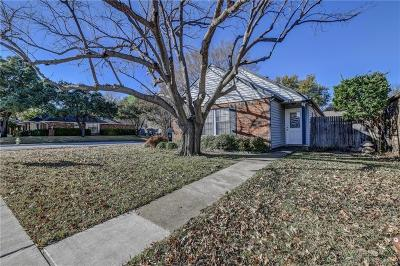 Coppell Single Family Home Active Option Contract: 161 Pinyon Lane