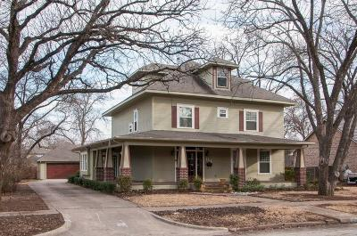 Waxahachie Single Family Home For Sale: 114 E University Avenue