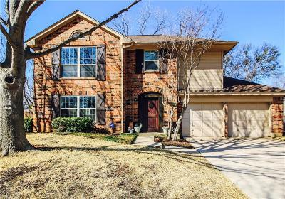 Grapevine Single Family Home Active Option Contract: 4506 Copperfield Drive