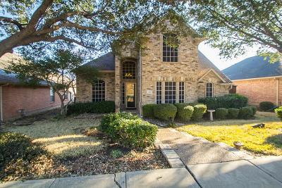 Lewisville Single Family Home Active Option Contract: 889 Pinnacle Circle