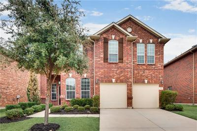 Lewisville Single Family Home Active Option Contract: 716 Marina Vista Drive