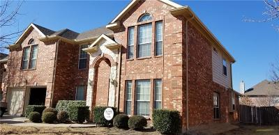Little Elm Single Family Home For Sale: 2412 Marble Canyon Drive