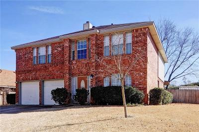 Rowlett Single Family Home For Sale: 3404 Tulip Lane