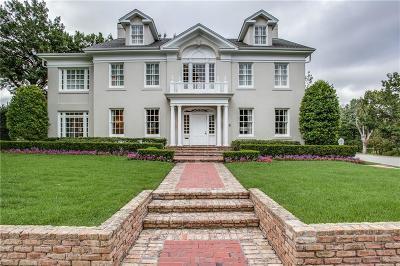 Highland Park Single Family Home For Sale: 3621 Cornell Avenue