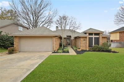 Grapevine Single Family Home Active Option Contract: 4502 Westchase Circle