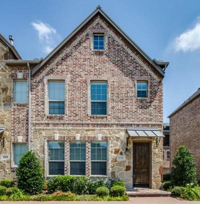 Plano Townhouse For Sale: 5755 Headquarters Drive