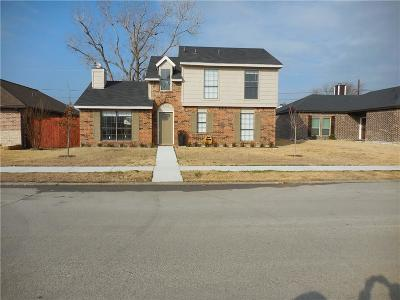 Rowlett Single Family Home Active Option Contract: 4521 Mariner Drive