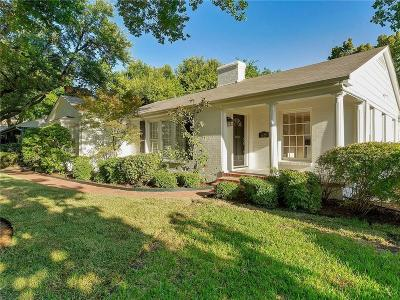 Fort Worth Single Family Home For Sale: 5629 Collinwood Avenue