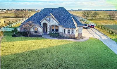 Haslet TX Single Family Home Active Option Contract: $459,000