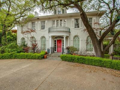 Highland Park Single Family Home For Sale: 4405 Highland Drive