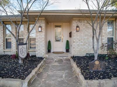 Carrollton Single Family Home Active Option Contract: 1510 McCoy Place