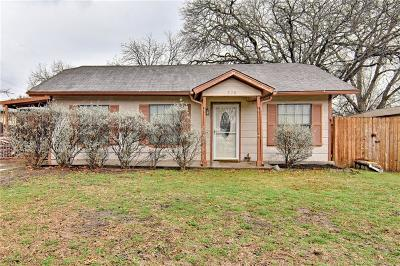 White Settlement Single Family Home Active Option Contract: 520 Comal Avenue