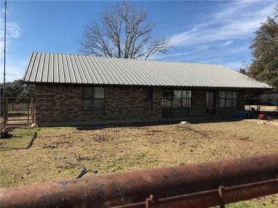Hico Single Family Home For Sale: 33808 Fm 2481