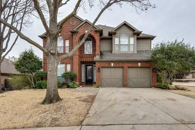 Grapevine Single Family Home Active Option Contract: 2417 Goliad Lane