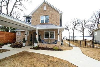 Mabank Single Family Home For Sale: 117 Waterfront