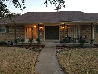 Carrollton Single Family Home Active Option Contract: 1602 Valleycrest Lane