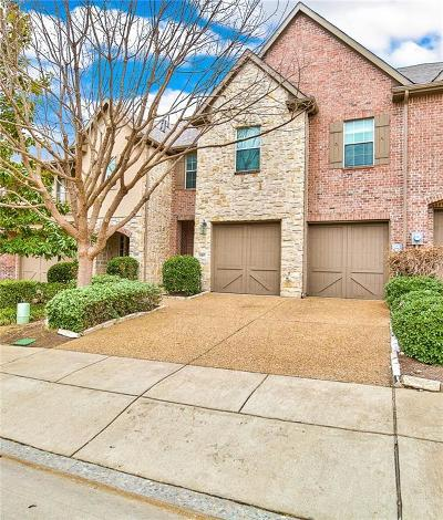 Frisco Townhouse For Sale: 2403 Greymoore Drive