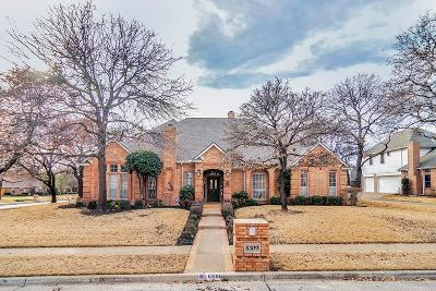North Richland Hills Single Family Home Active Option Contract: 8309 Thorncrest Court