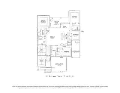 Single Family Home For Sale: 332 Ellison Trace